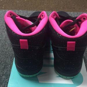 best sneakers ab0ef 0c8f3 Nike SB Dunk Hi Northern Lights NWT